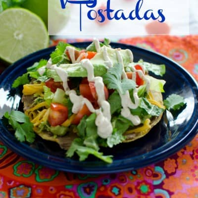 from the archives fridayvegetarian tostada