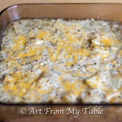 SRC:  Cheesy & Gooey Eggplant Bake