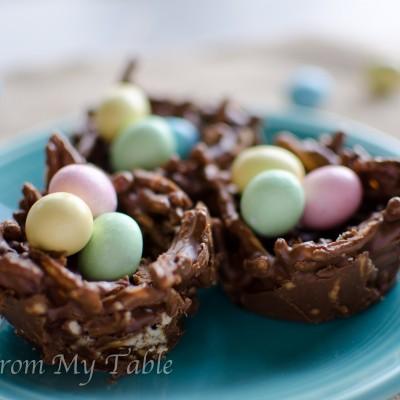 Bird's Nest Easter Treats {No Bake}