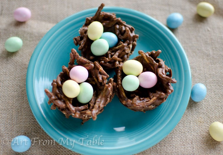 birds' nest easter treats