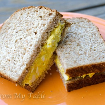 Egg salad-pure and simple