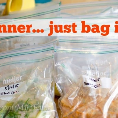 Dinner… Just Bag It!
