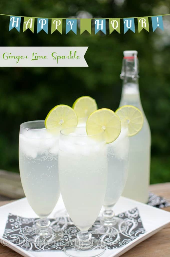 Ginger Lime Sparkler - Art From My Table