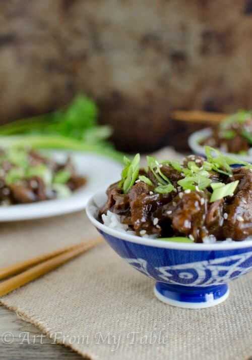 Slow Cooker Mongolian Beef {have takeout at home}