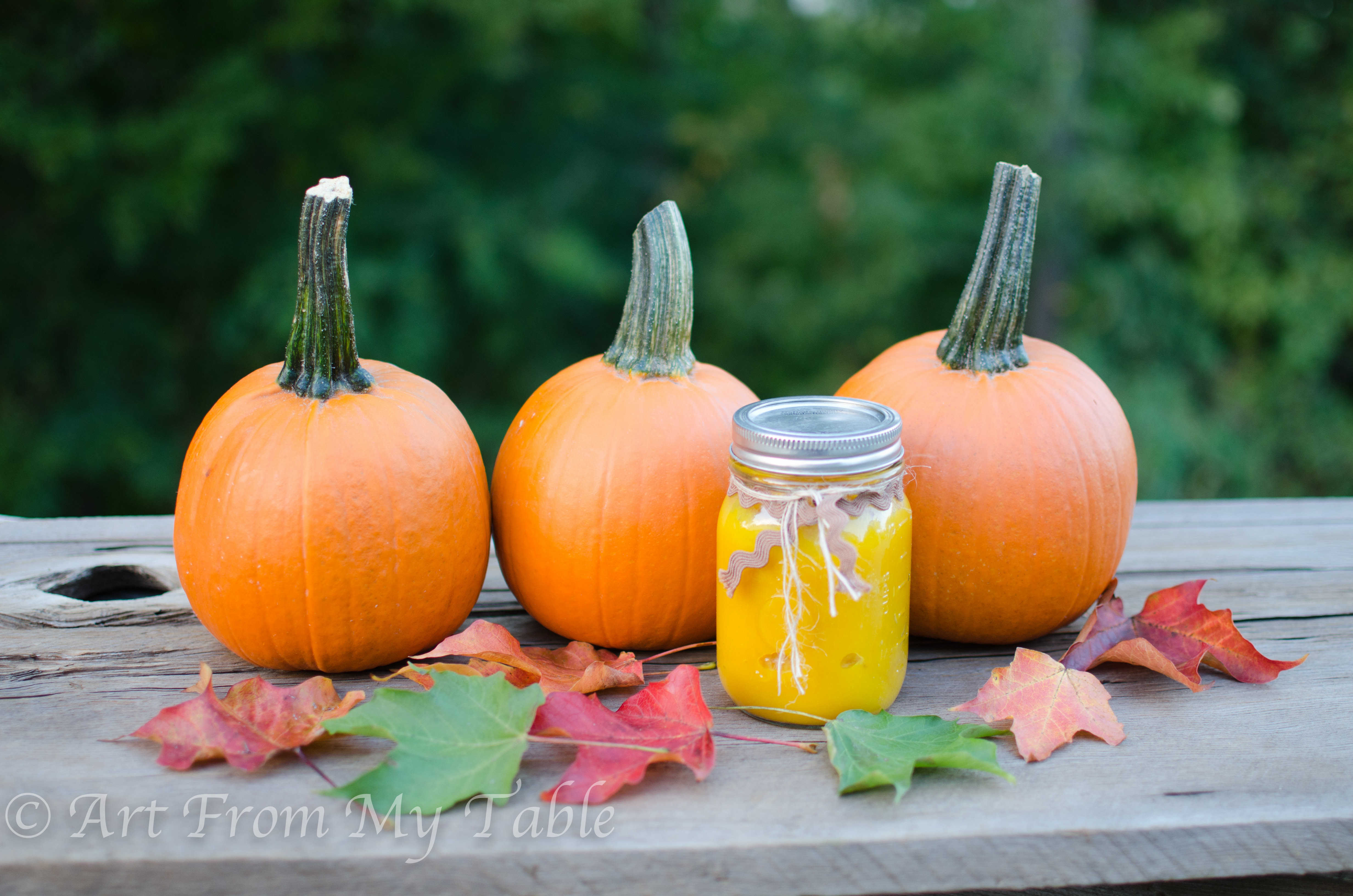 how to make pumpkin puree quickly