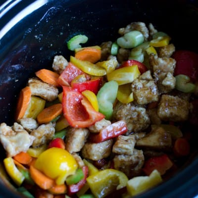 Orange Chicken {Slow Cooker}