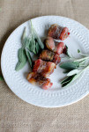 bacon wrapped apricots
