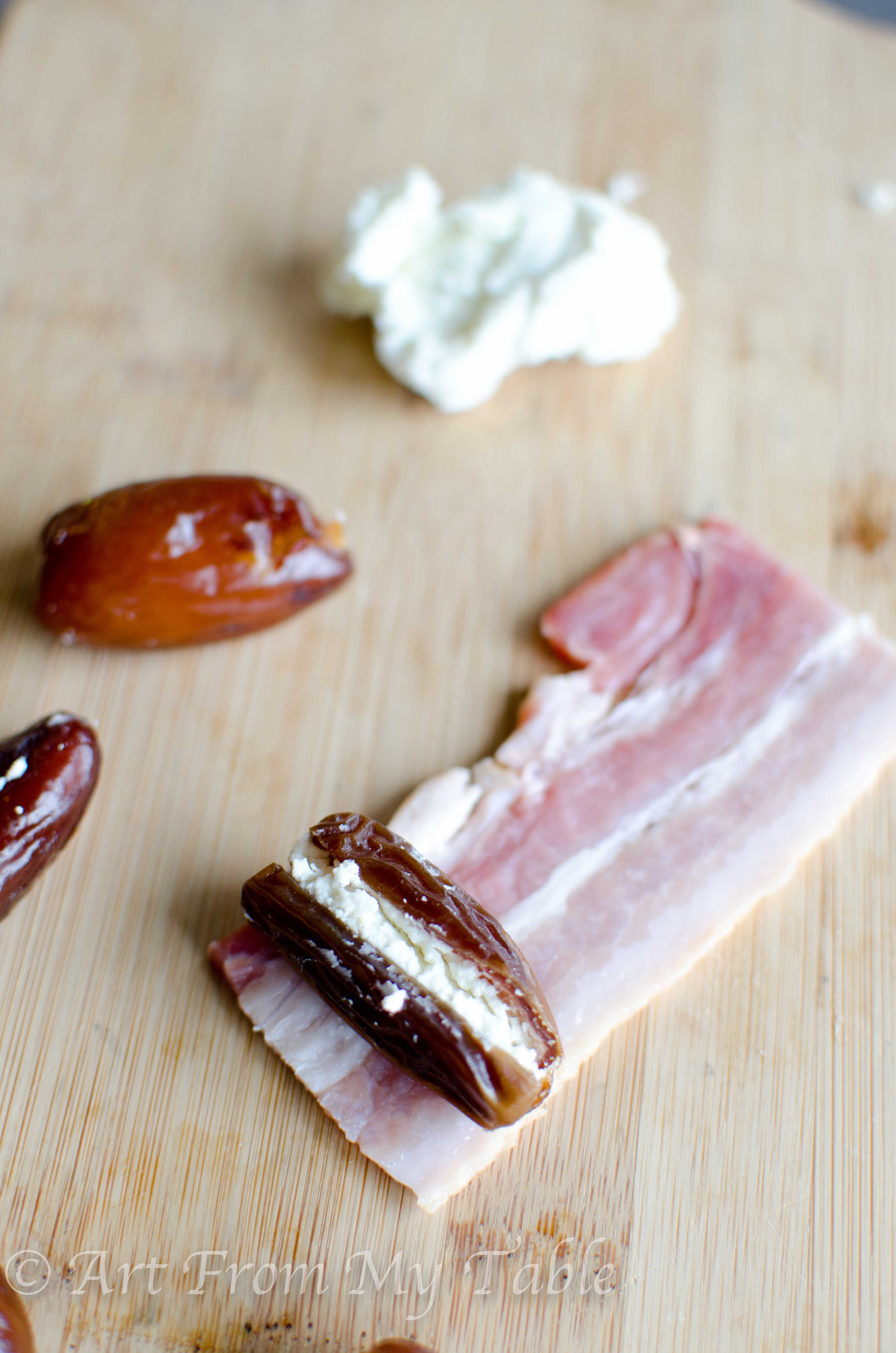 ... Appetizer: Bacon Wrapped Dates. - Nibbles of Tidbits, a Food Blog
