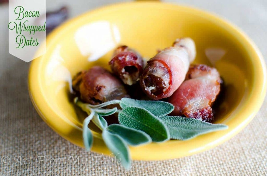 Bacon Wrapped Dates Stuffed with Goat Cheese Recipe - Lulus.com ...