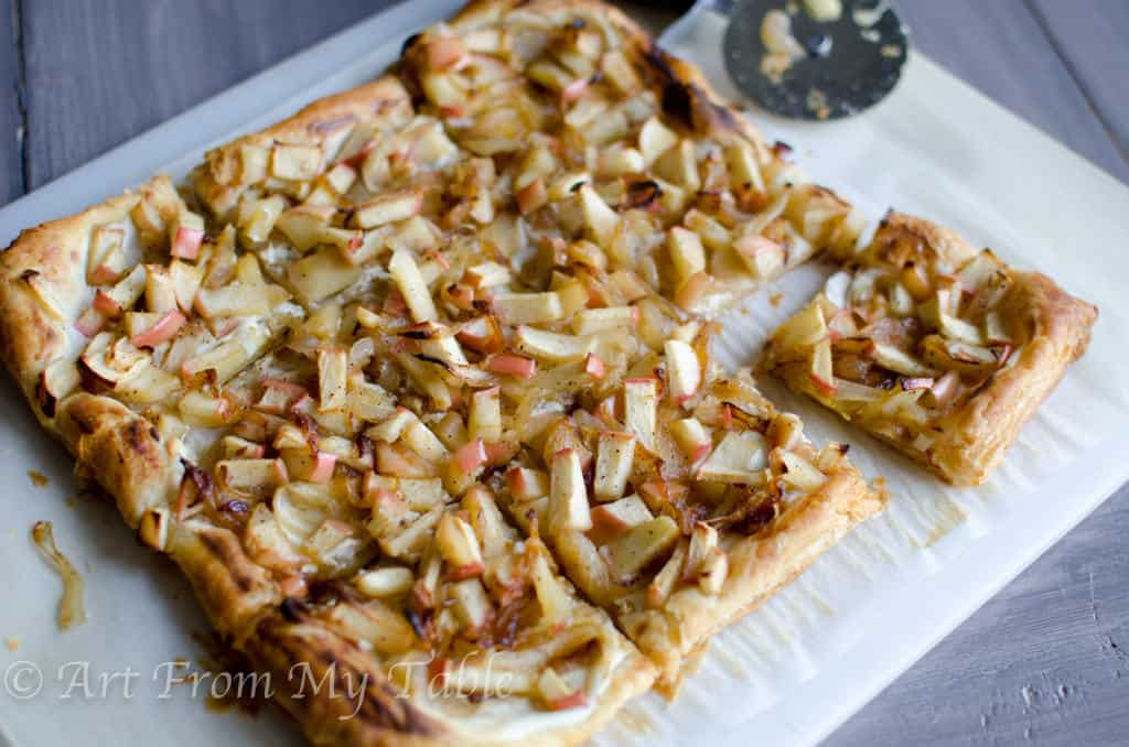 onion tarts