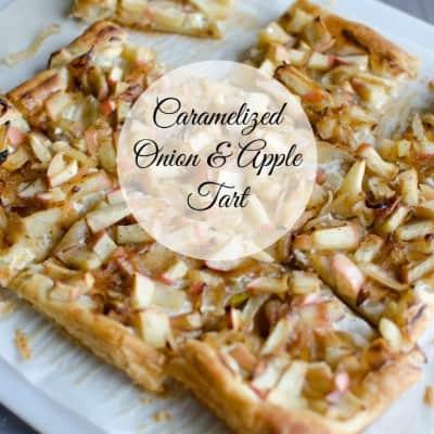 Carmelized Onion Tarts