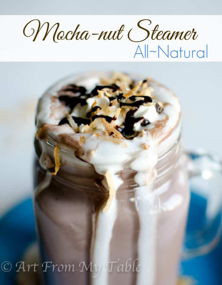 mocha coconut drink
