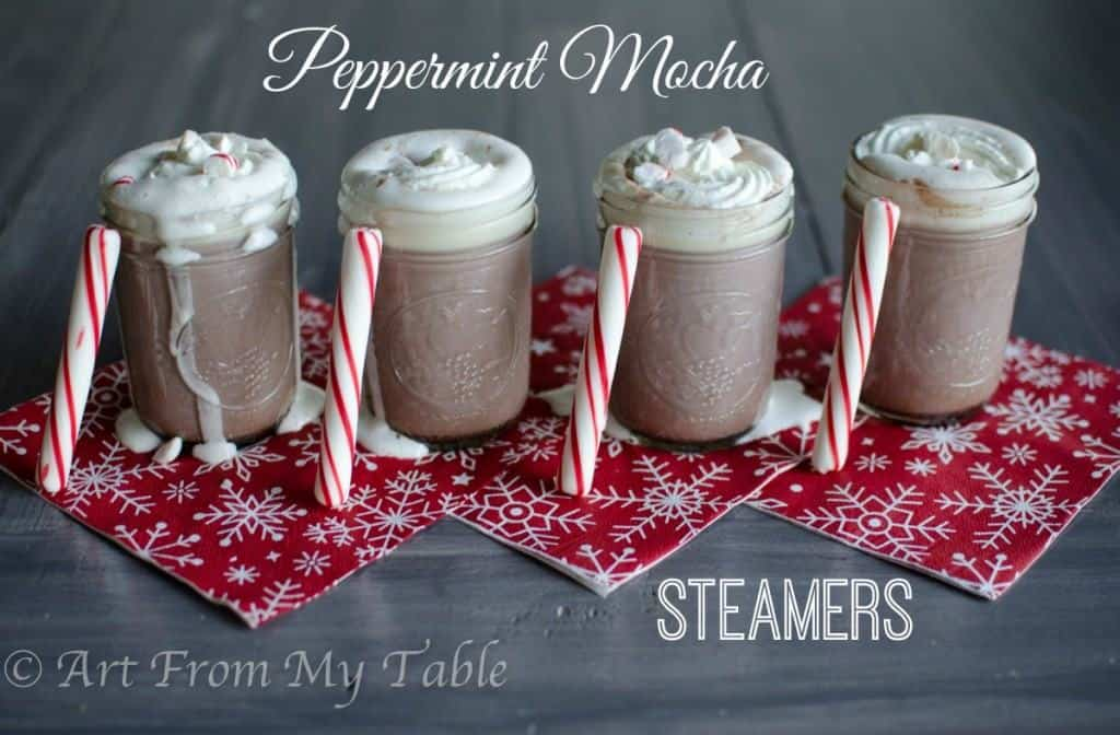 peppermint mocha steamer