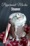 peppermint mocha steamer