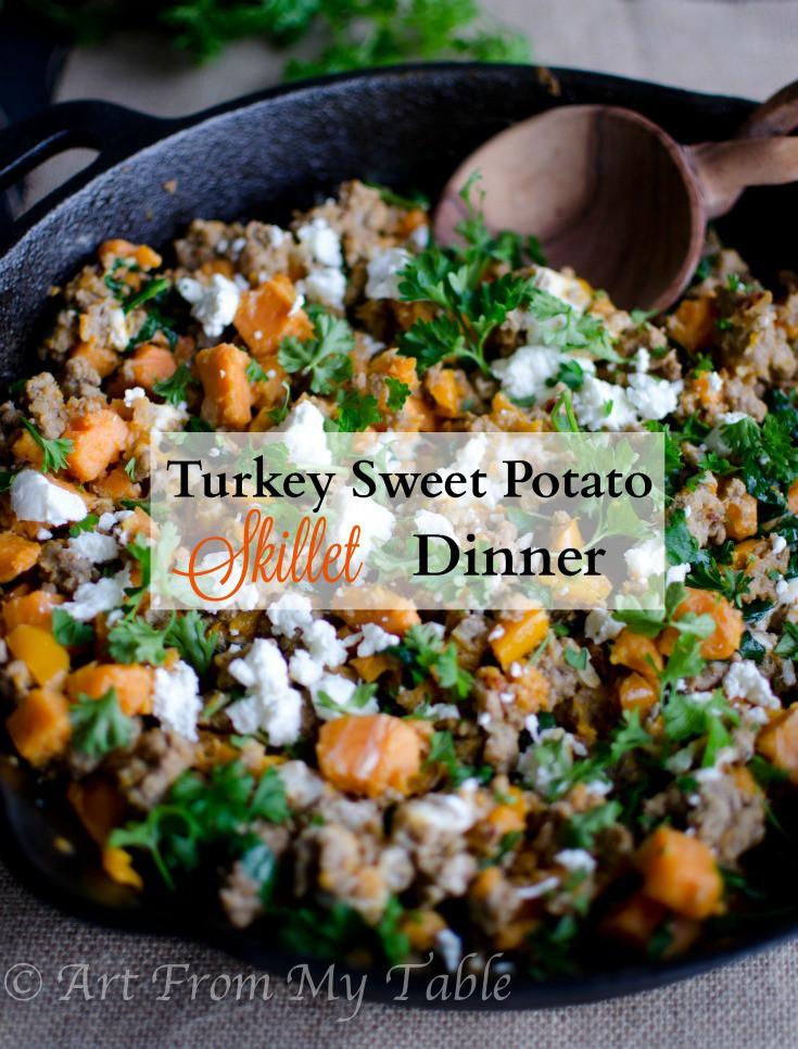 turkey skillet dinner