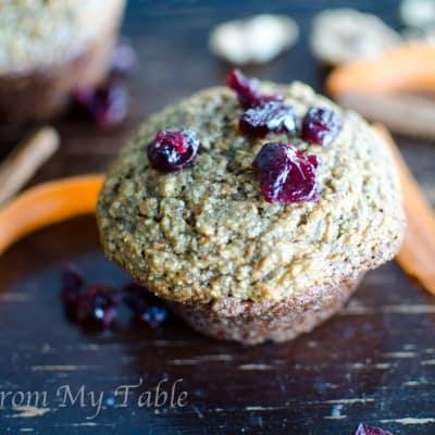 Bran Flax Muffins {healthy start}