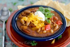 turkey chili slow cooker