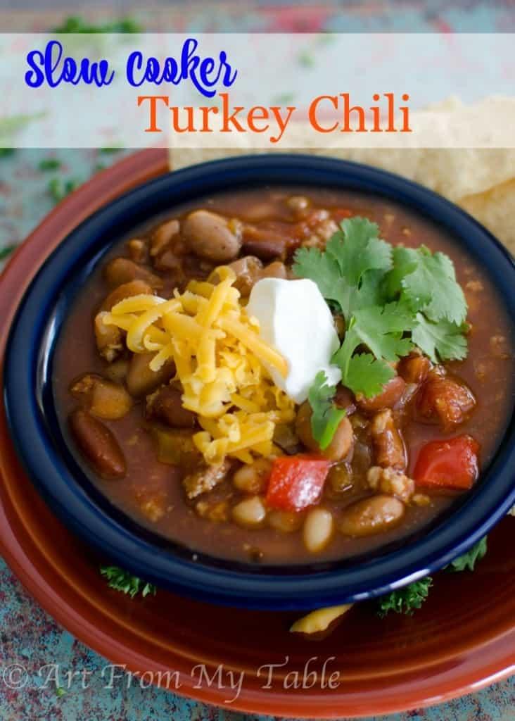 turkey chili slow cooker
