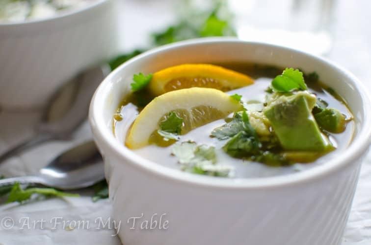 citrus chicken soup