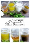 jam jar salad dressing recipes