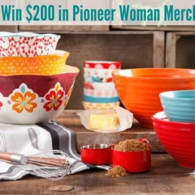 $200 Pioneer Woman Giveaway!