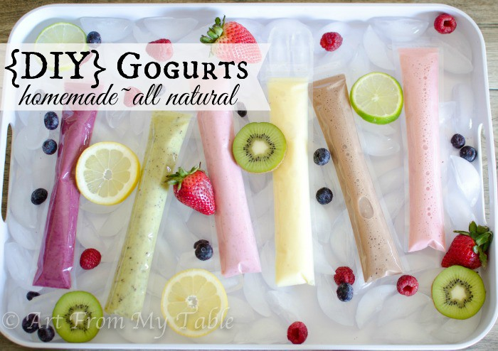 diy gogurts