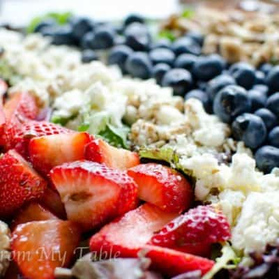 Red White and Blue Salad