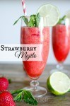 strawberry mojito mocktail