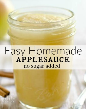 There is just nothing like a fresh apple from the orchard! Make Easy Homemade Applesuace Today! You'll never buy jarred again.  This applesauce recipe is sugar free! It's so sweet naturally, the secret is in the apple. #artfrommytable #applesauce #fromscratch #applesaucerecipe #homemadeapplesauce #easyapplesauce #nosugaradded #3stepapplesauce #sugarfreeapplesauce #unsweetenedapplesauce