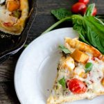 rustic harvest vegetable pizza