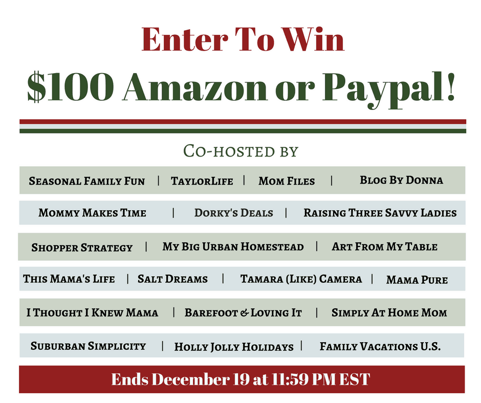 $100 christmas for cash giveaway