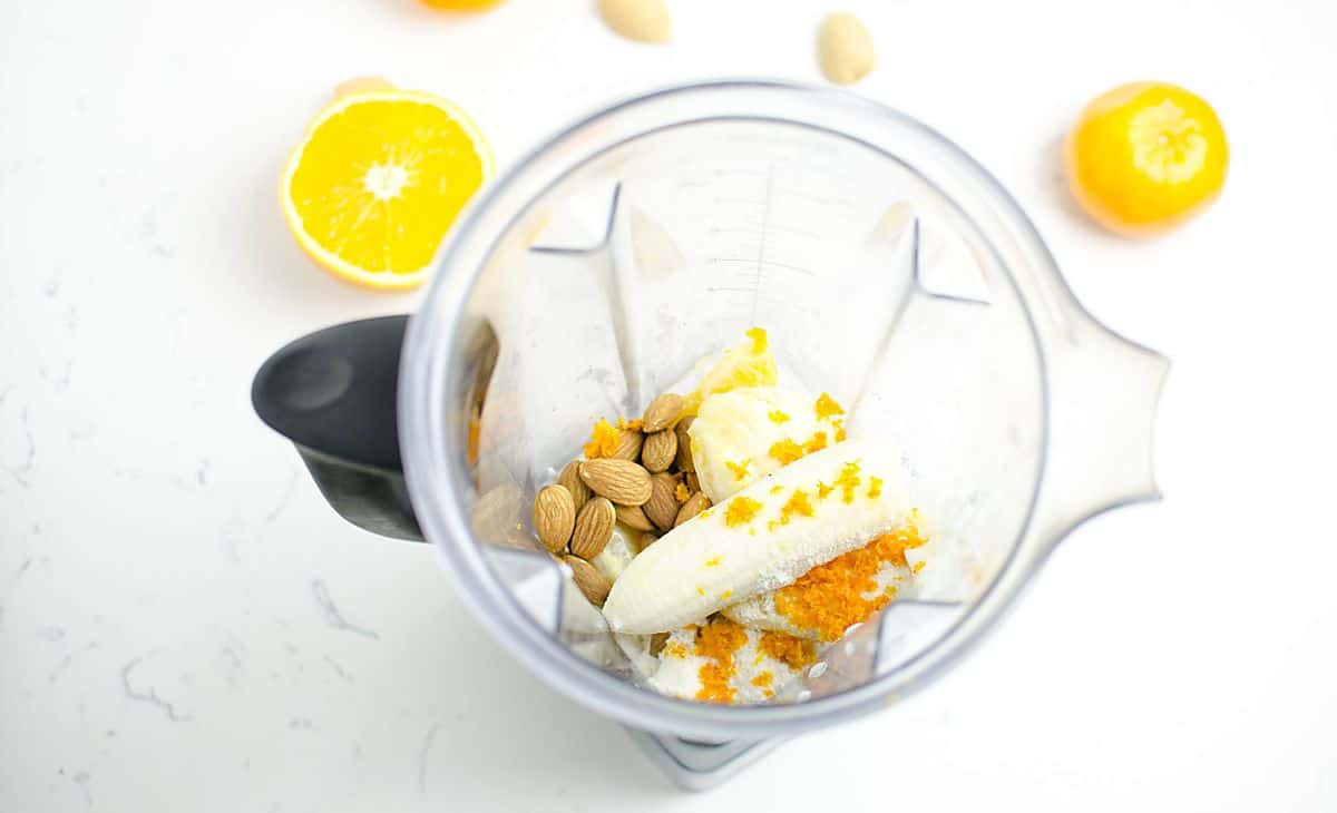 Healthy Orange Creamsicle Smoothie