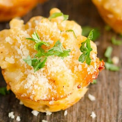Lobster Mac And Cheese Bites