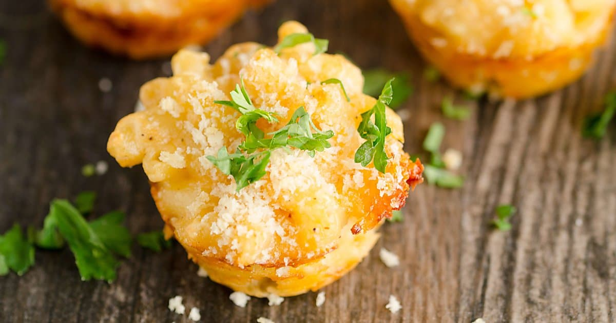 Lobster Mac and Cheese Bites ~ Perfect Crowd Pleasing Appetizer!