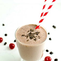 chocolate covered cherry smoothie