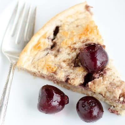 Black Cherry Breakfast Cake