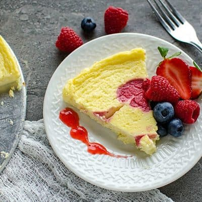 Lightened Up Cheesecake