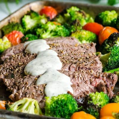 Sheet Pan Steak and Veggies