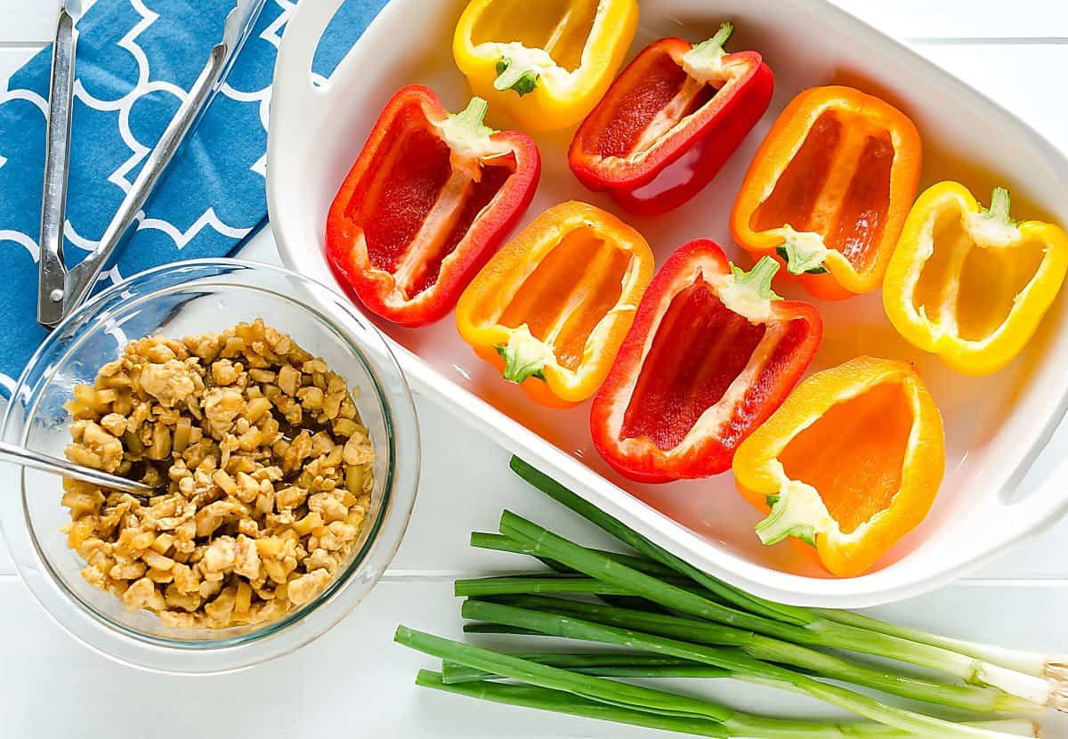 stuffed red bell pepper recipes