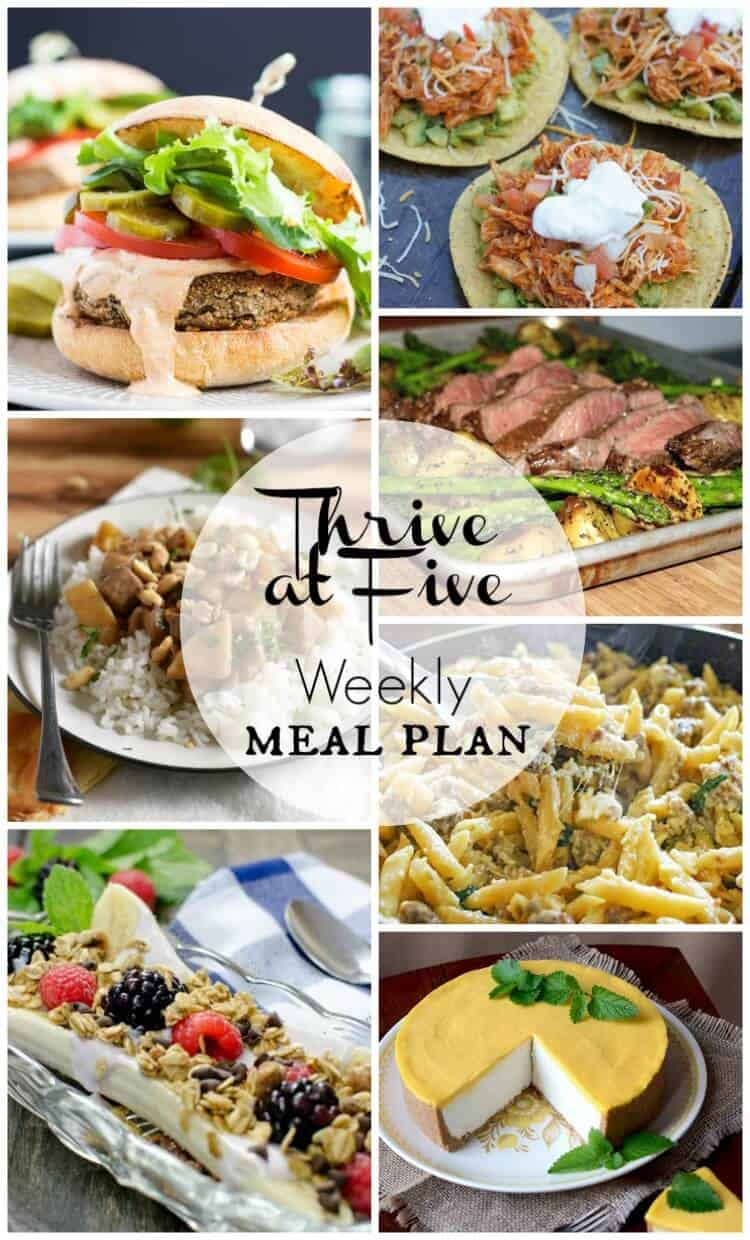 free weekly meal planning