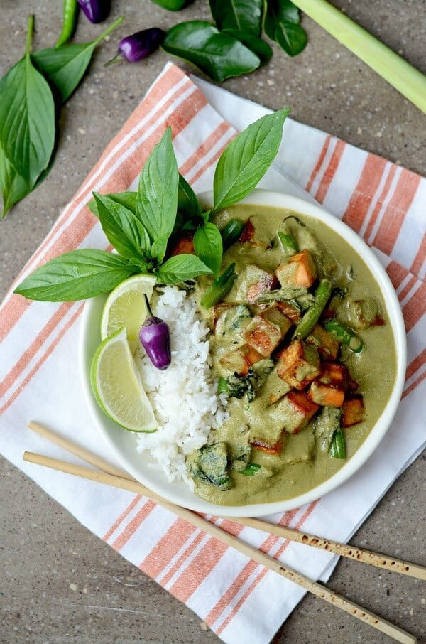 thai green curry meatless monday meal plan