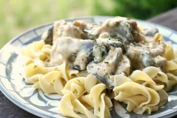 chicken stroganoff meal plan