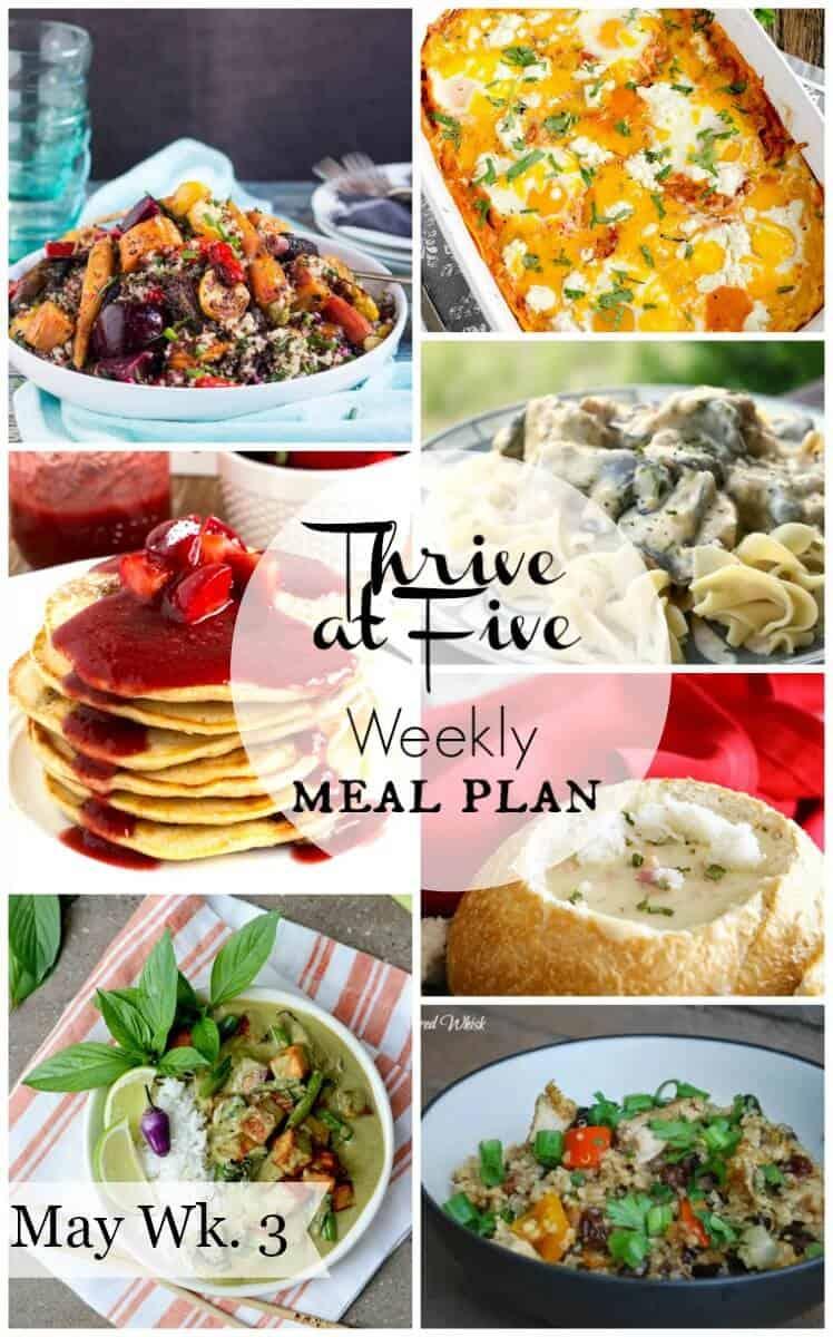 Free Weekly Meal Plan Menu