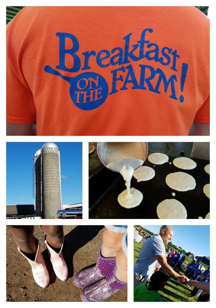 breakfast on the farm event