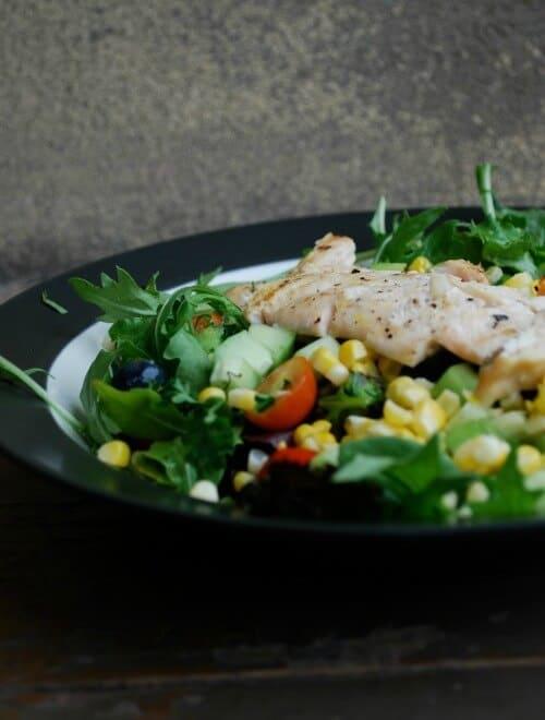grilled chicken salad meal plan june week 2