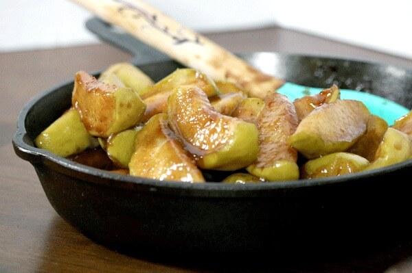 southern skillet fried apples meal plan june week 3