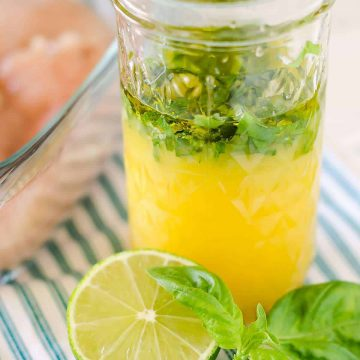 citrus chicken marinade with fresh basil