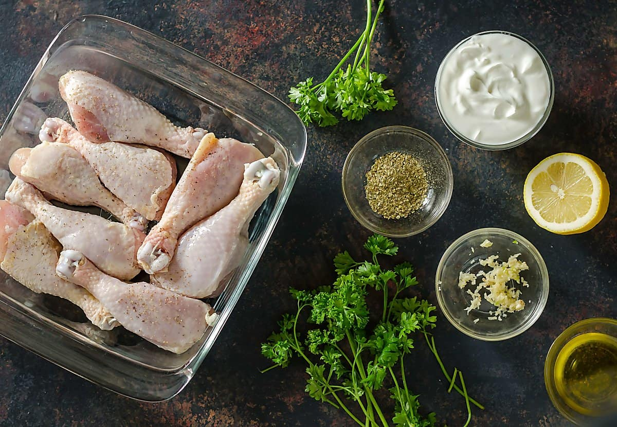 grilled chicken drumstick marinade ingredients