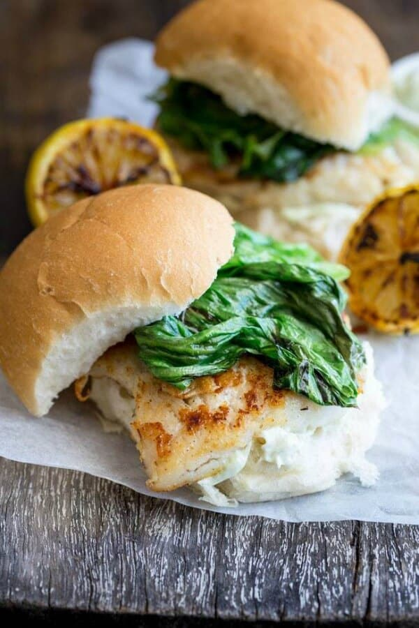 fish burger meal plan july week 4