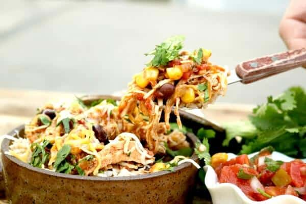 chicken burrito bowls easy meal plan